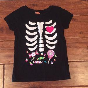 Other - Halloween skeleton T-shirt